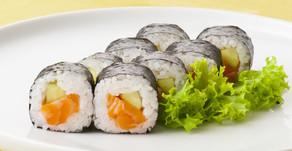 ¿Cuántos rolls de sushi debería comer una persona?