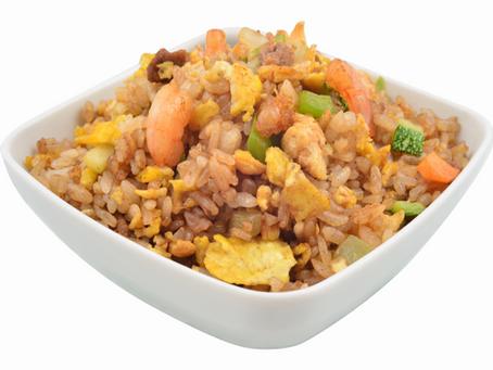 El Yakimeshi, delicioso plato de arroz frito.
