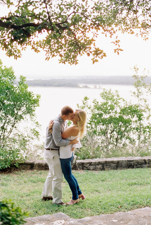 Lakeside Surprise Proposal | Film Photography | Austin TX