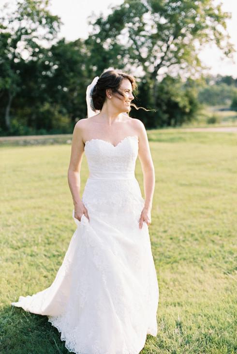 Pecan Springs Bridals | Austin TX | Amanda Terry