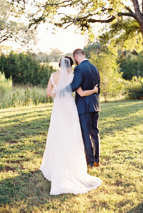 Pecan Springs Ranch | Film Wedding Photography | Austin TX | Mason & Amanda