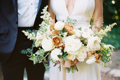 Austin Wedding Photographer | Barr Mansion - Mayhar Design - Sprout Flowers | Clean & Classic El