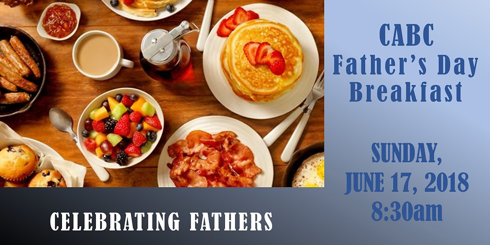 Fathers Day Breakast