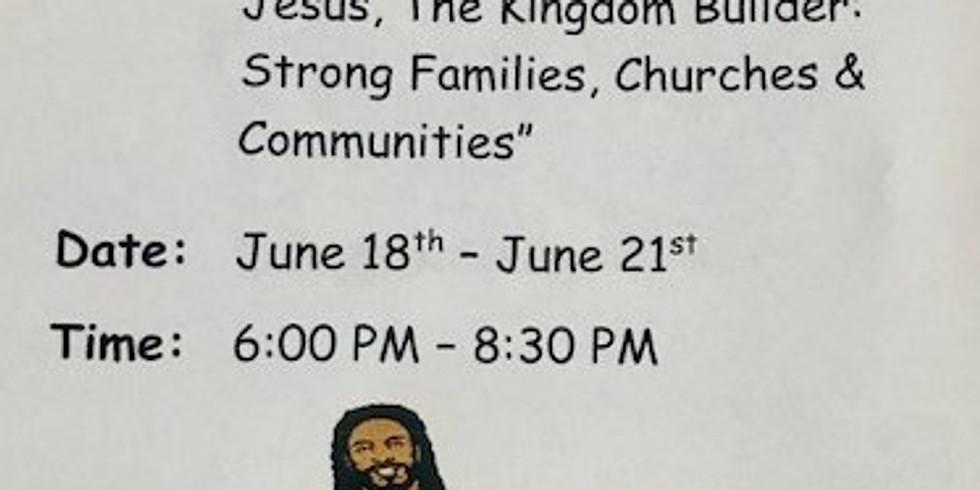 2018  Vacation Bible School