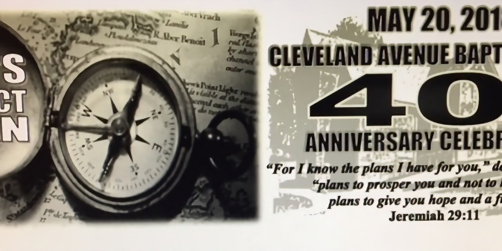 40th Church Anniversary