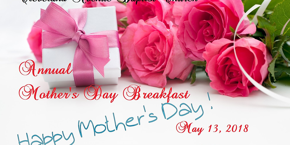 Annual Mother's Day Breakfast