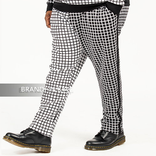 Ying Yang Jogger Tuxedo Pant