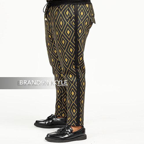 Neoprene Jogger Tuxedo Pant