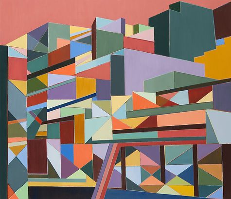 Corrections, The High Line # 16, 95x110.