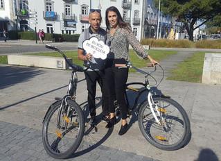 Em Viana do Castelo pedala-se