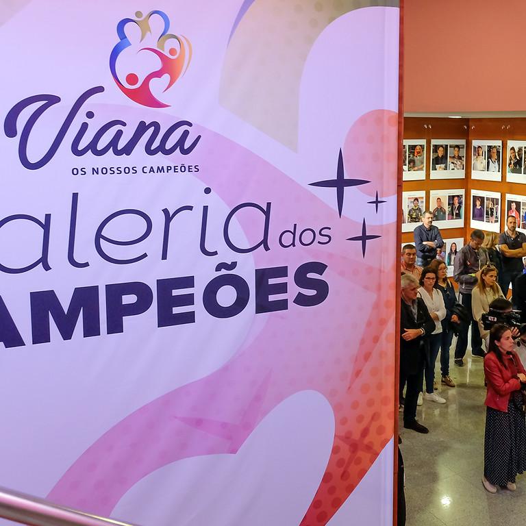 Exposição: Galeria dos Campeões