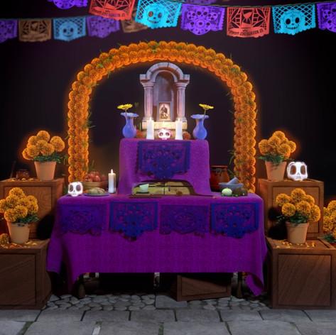 Cómo armar un altar de Día de Muertos