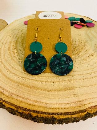 Collection Almodovar -  vert et marine