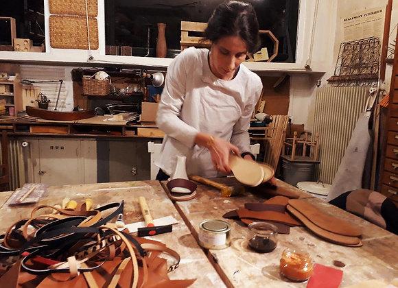 Offrir un atelier de création de sandales