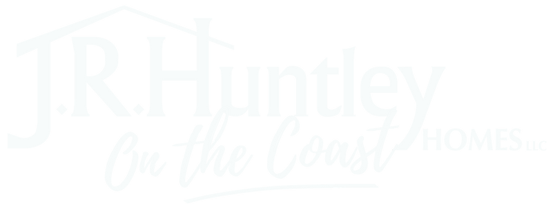 JR Huntley on the Coast Logo White Trans
