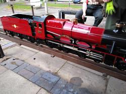 Visiting Steam Loco