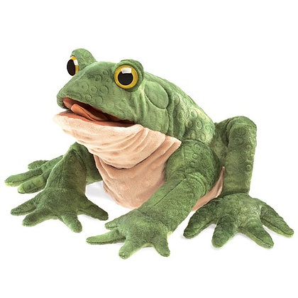 FM3099 - Green Toad Puppet