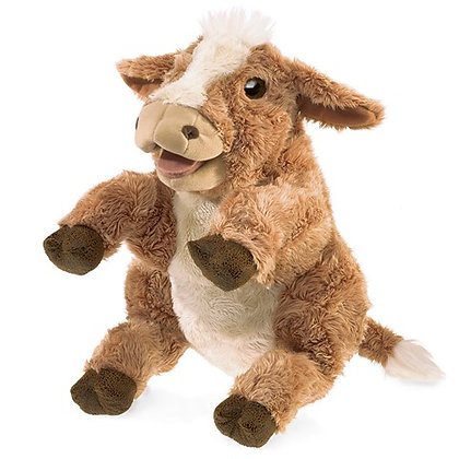FM3080 - Brown Cow Puppet
