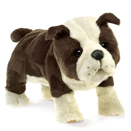 FM3111 - English Bulldog Puppy Puppet