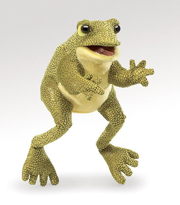 FM3033 - Funny Frog Hand Puppet
