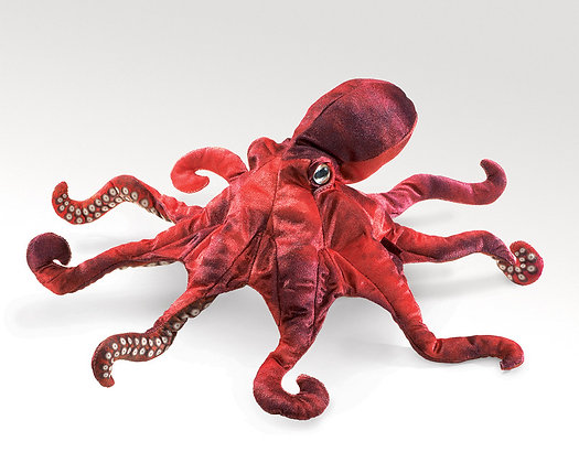 FM2974 - Red Octopus