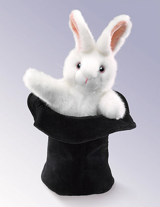 FM2269 - Rabbit in the Hat Puppet