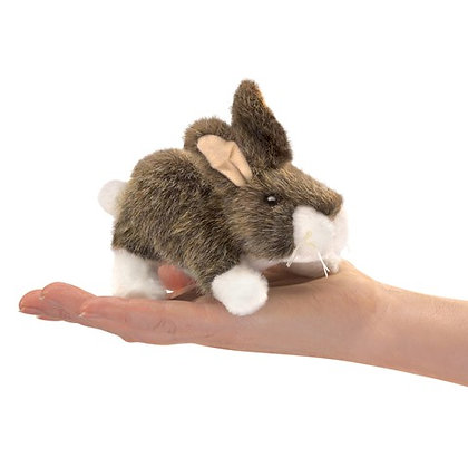 FM2772 - Cottontail Rabbit Finger Puppet