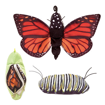 FM3073 - Monarch Life Cycle Puppet