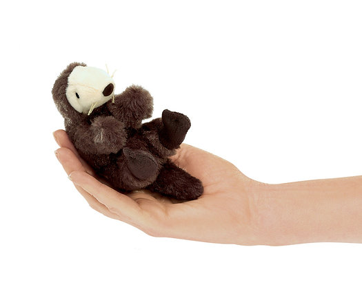 FM2766 - Mini Sea Otter Finger Puppet
