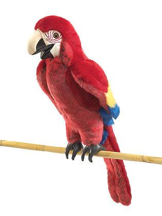 FM2362 - Scarlet Macaw Puppet