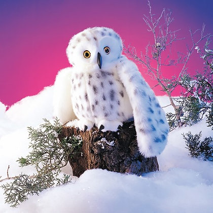 FM2236 - Snowy Owl Puppet
