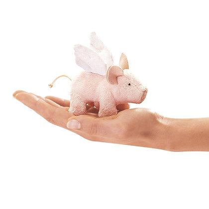 FM2685 - Mini Winged Piglet Finger Puppet