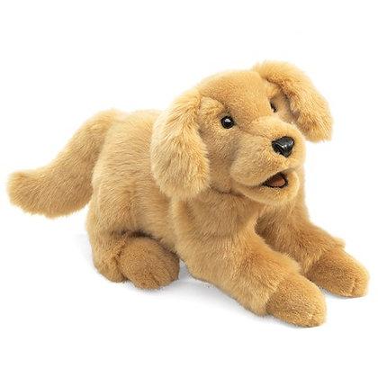 FM2862 - Golden Retriever Puppy Puppet
