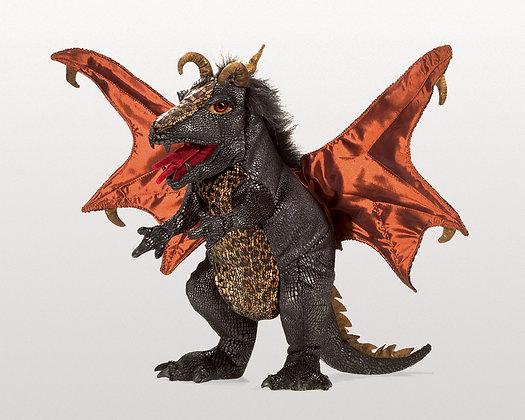 FM3069 - Black Dragon Puppet