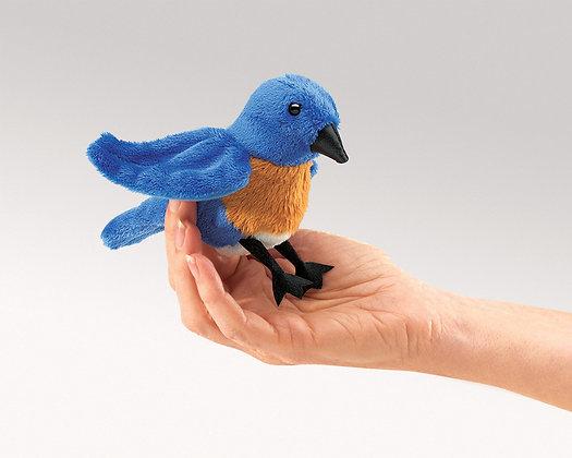 FM2755 - Mini Bluebird Finger Puppet