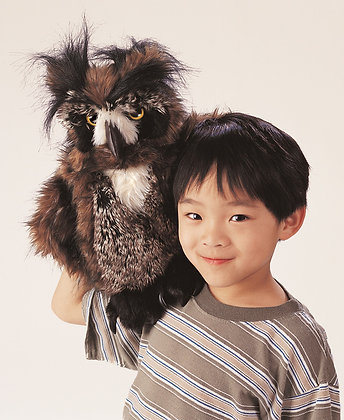 FM2403 - Great Horned Owl Puppet