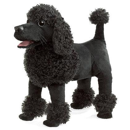 FM3095 - Black Poodle Puppet
