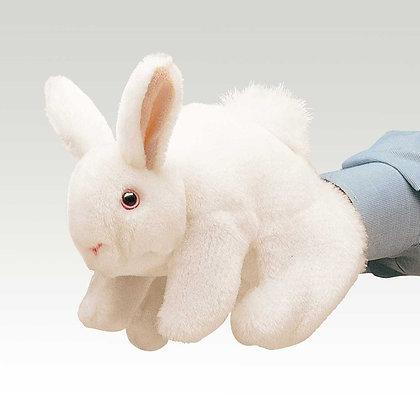 FM2048 - White Bunny Rabbit Puppet