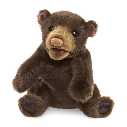 FM3107 - Small Black Bear Puppet
