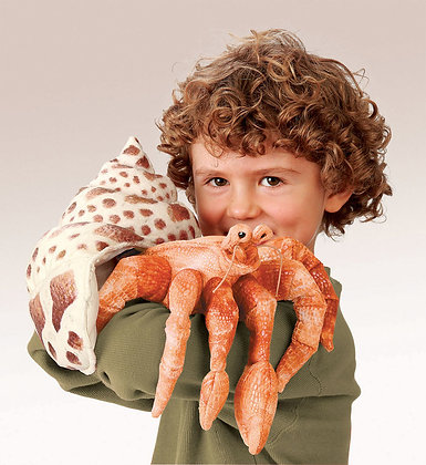 FM2867 - Hermit Crab Puppet