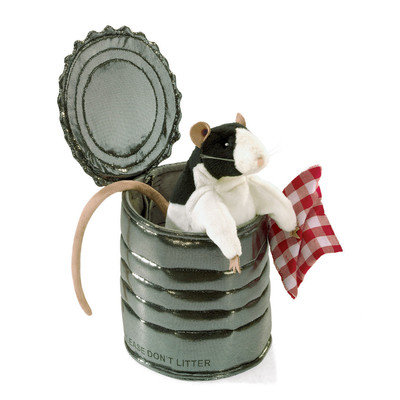 FM3084 - Rat in Tin Can Puppet