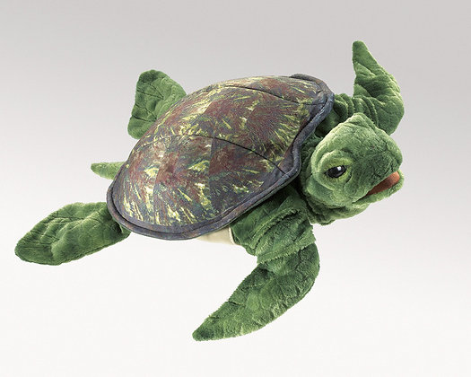 FM3036 - Sea Turtle Hand Puppet