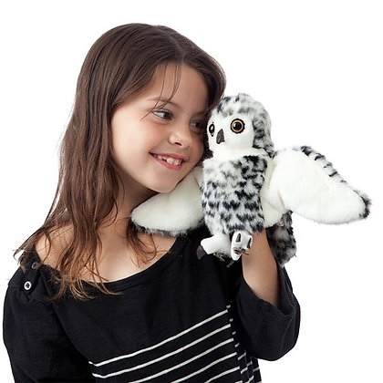 FM3047 - Small Snowy Owl Puppet