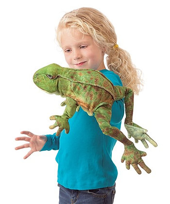FM3082 - Jumping Frog Puppet
