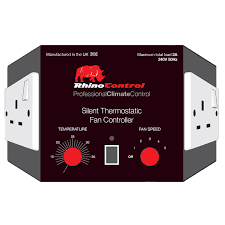 Silent Thermostatic Fan Speed Controller