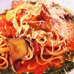 Pasta Tomato Eggplant