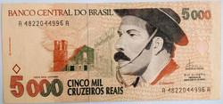 5000 MIL CRUZEIROS REAIS
