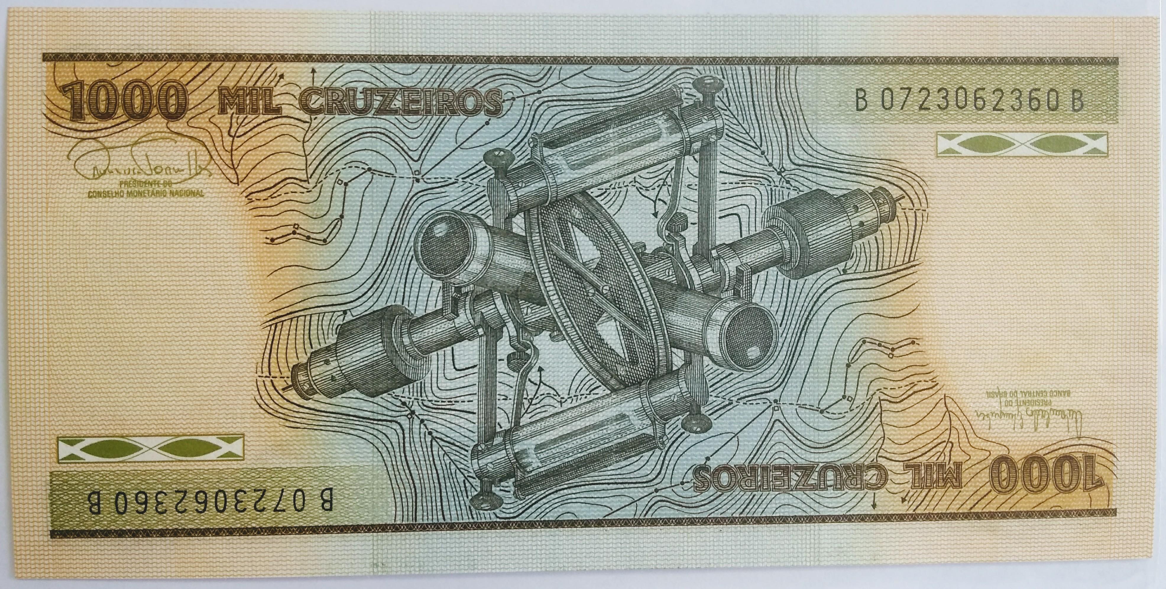 1.000 MIL CRUZEIROS