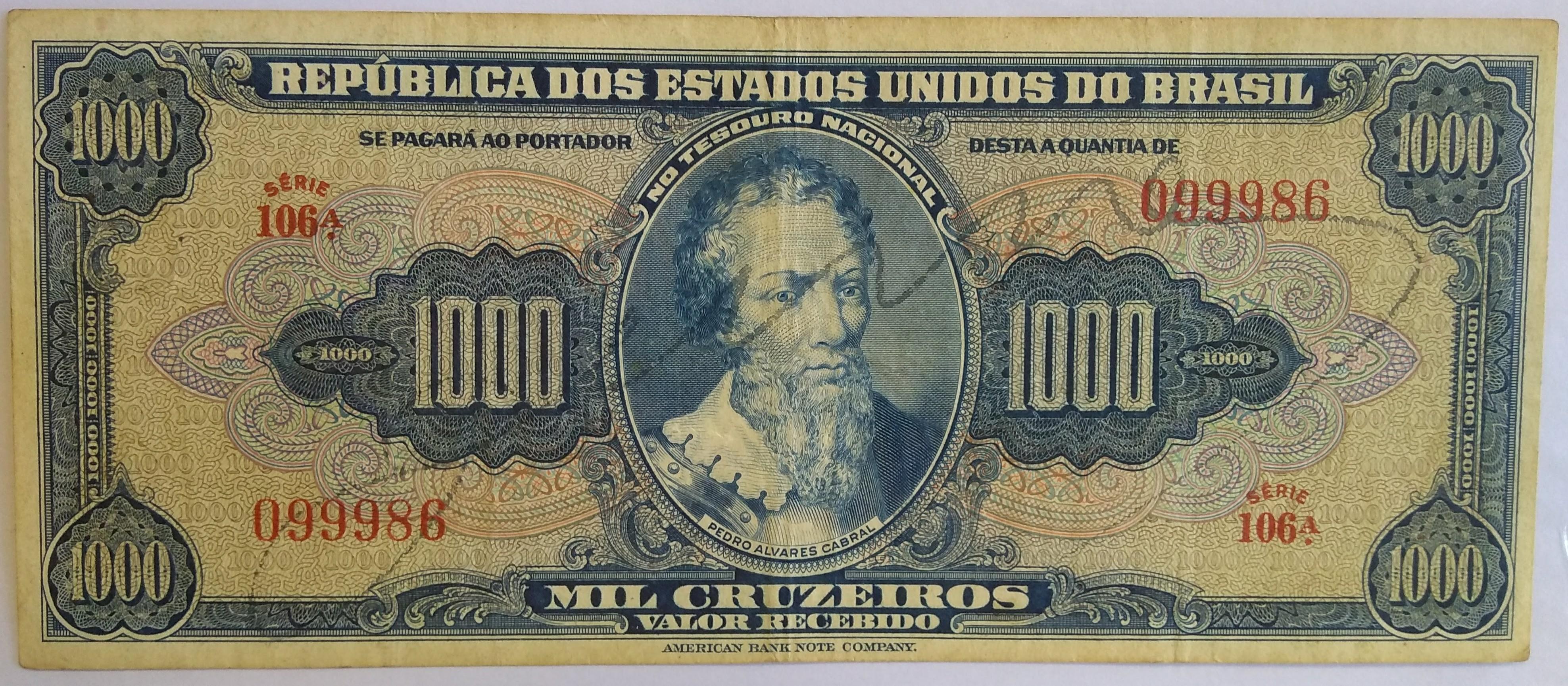 1000 CRUZEIROS