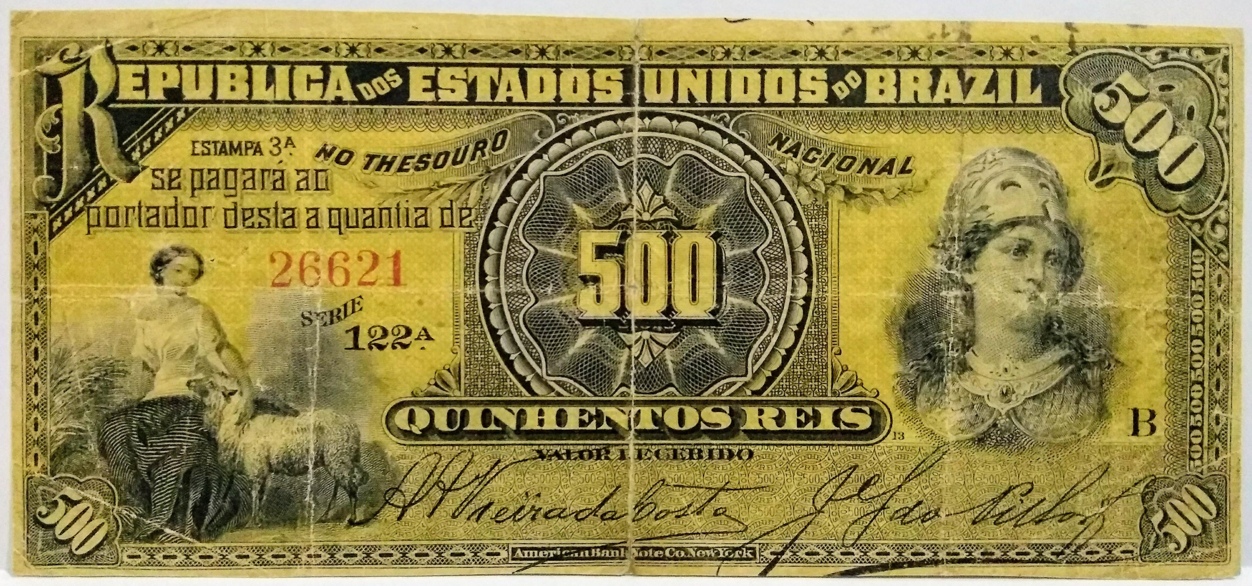 500 RÉIS